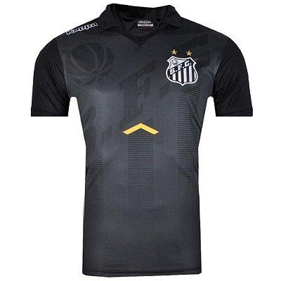Camisa Santos Pólo Comissão Técnica 2017 Kappa