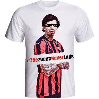 Camisa Vitoria The Zueira Never endes feminina