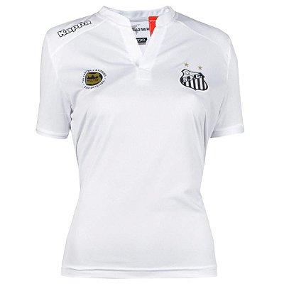 Camisa Santos Jogo I Feminina 2016 Kappa