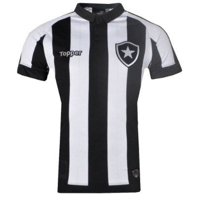 Camisa Botafogo Jogo I Tamanho Especial Sem Número 2017 Topper