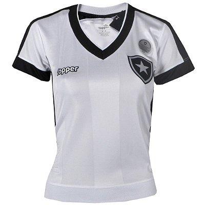 Camisa Botafogo Jogo III Feminina  2017 Topper