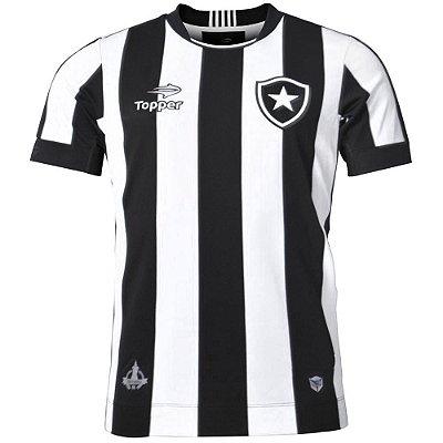 Camisa Botafogo Jogo I Tamanho Especial 2016 Topper