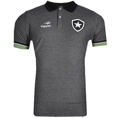 Camisa Polo Viagem Botafogo 2016 Topper