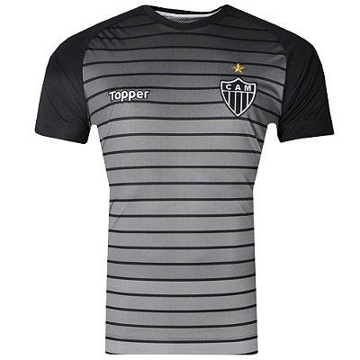 Camisa Atlético Aquecimento 2017 Topper