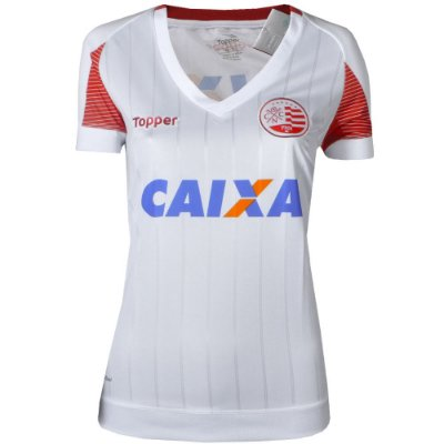 Camisa Náutico Jogo II Sem Número Feminina 2017 Topper