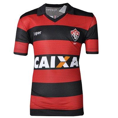 Camisa Vitória Jogo I  Juvenil 2017 Topper