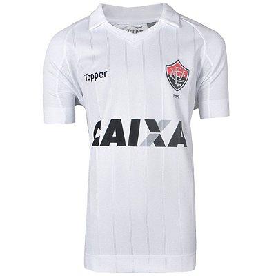 Camisa Vitória Jogo II Sem Número Juvenil 2017 Topper