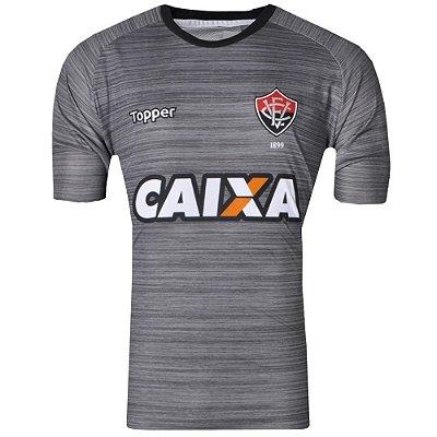 Camisa Vitória Treino Comissão Técnica 2017 Topper