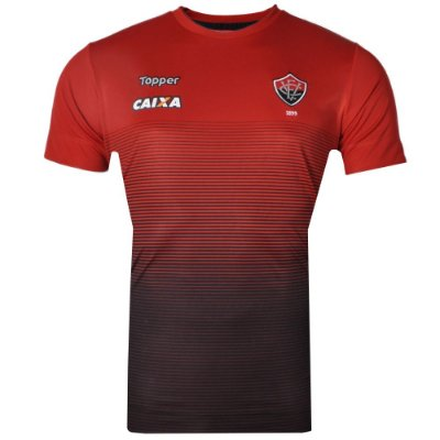 Camisa Vitória Concentração Comissão Técnica 2017 Topper