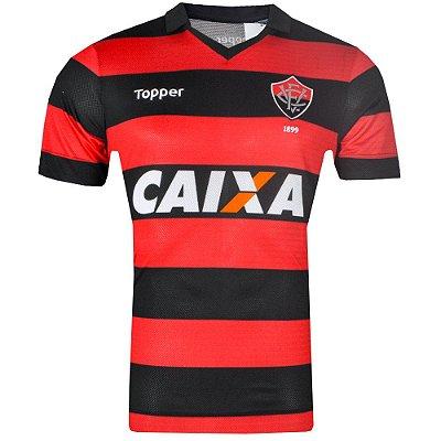 Camisa Vitória Jogo I Tamanho Especial 2017 Topper