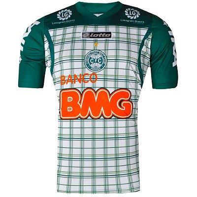 Camisa Coritiba Treino Atleta 2011 Lotto