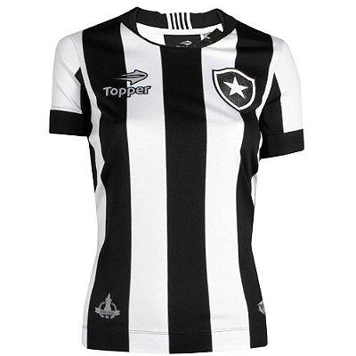 Camisa Botafogo Jogo I Feminina 2016 Topper