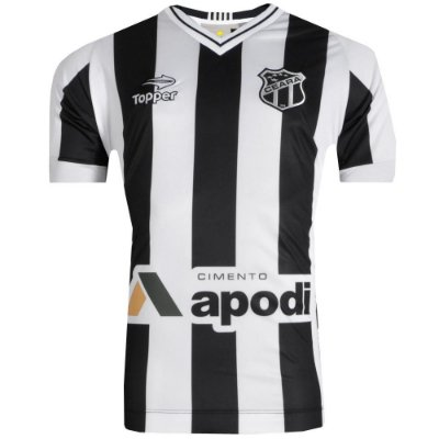 Camisa Ceará Jogo 1 Nº 10 2016 Com Patrocínio