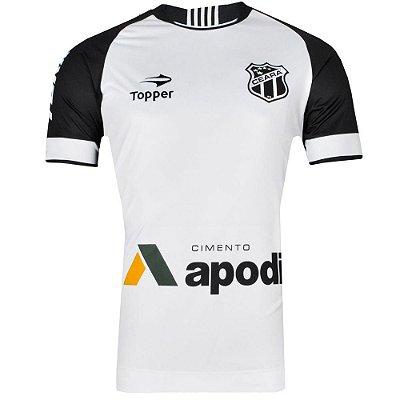 Camisa Ceará Jogo II Nº10 2016 C/Patrocínio