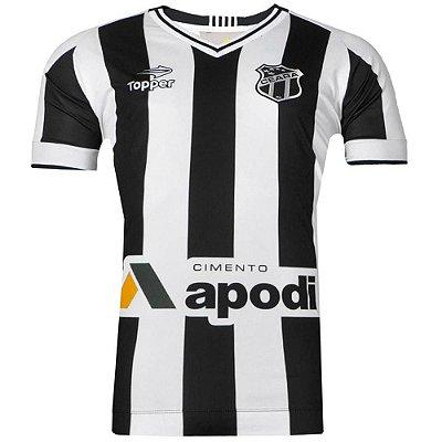 Camisa Ceará Jogo I Nº10 C/Patrocínio 2016 Tamanho Especial