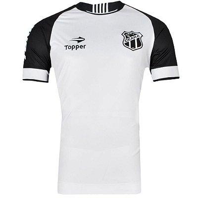 Camisa Ceará Jogo II S/Patrocínio C/Nº Tamanho Especial 2016 Topper