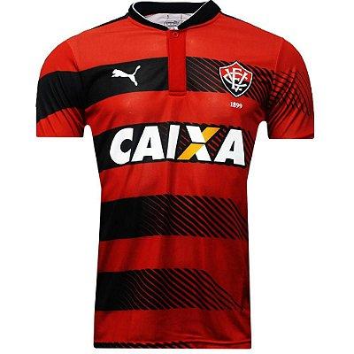 Camisa Vitoria Jogo I Numero 10 2016 Puma