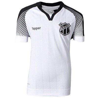 Camisa Ceará Jogo II Juvenil  C/Patrocínio 2017 Topper