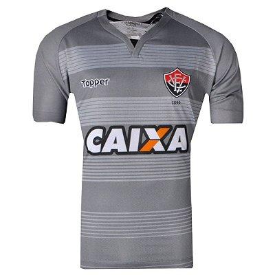 Camisa Vitória Goleiro III 2017 Topper