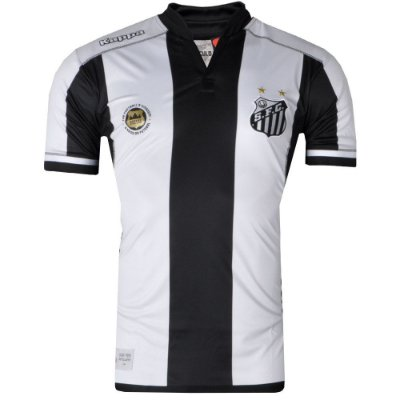 Camisa Santos Jogo II 2016 Kappa Oficial