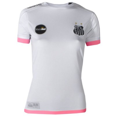 Camisa Santos Jogo I Official Feminina 2017 ST Kappa