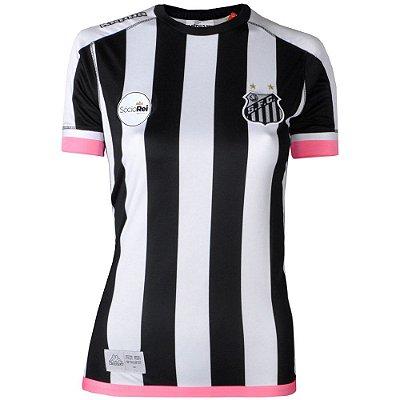 Camisa Santos Jogo II Official Feminina 2017 ST Kappa