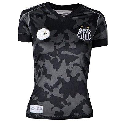 Camisa Santos Jogo III Official Feminina 2017 ST Kappa