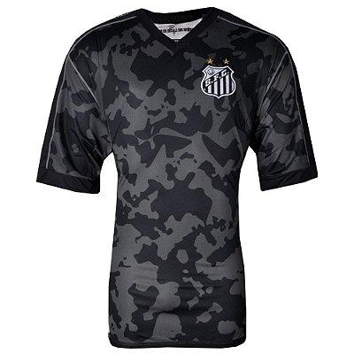 Camisa Santos Jogo III Official Plus Size 2017 ST Kappa