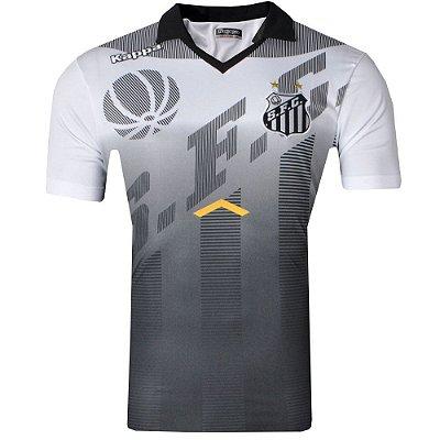 Camisa Polo Santos Viagem CTécnica 2017 ST Kappa