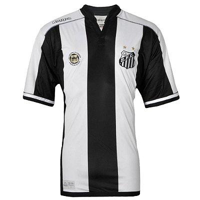 Camisa Santos Jogo II Official Tamanho Especial 2016 Kappa