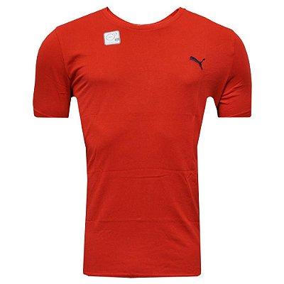 Camisa Vestuário Ess Tee Red Puma
