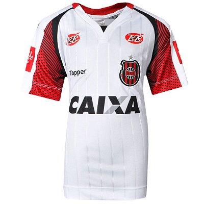 Camisa Brasil de Pelotas Jogo II Sem Número Juvenil 2017 Topper
