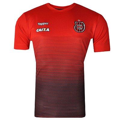 Camisa Brasil de Pelotas Concentração Comissão Técnica 2017 Topper