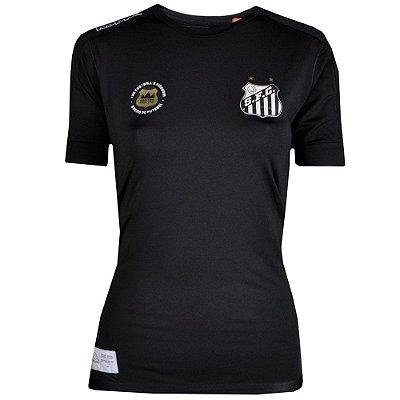 Camisa Santos Goleiro Kombat Feminina 2017 Kappa
