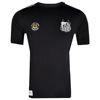 Camisa Santos Goleiro Kombat 2017 Kappa