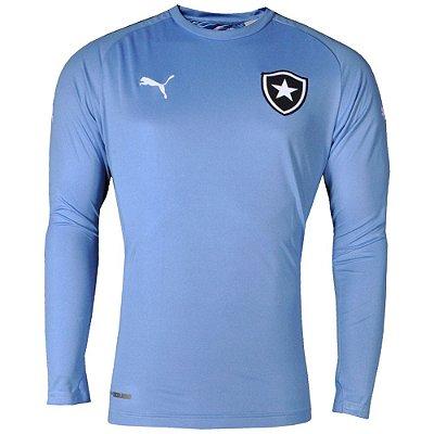 Camisa Botafogo Goleiro II Manga Longa S/Patrocínio 2014 Puma