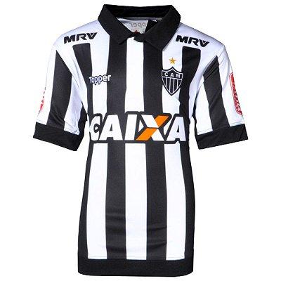 Camisa Atlético Jogo I Juvenil 2017 Topper