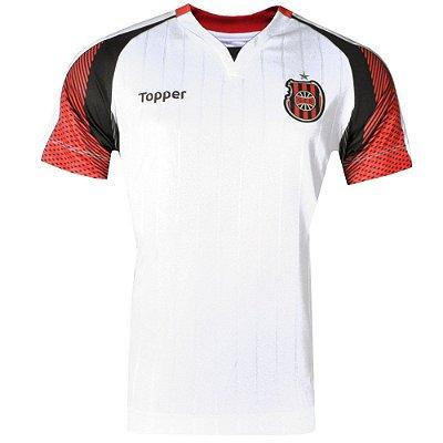 Camisa Brasil de Pelotas Jogo II SPatrocínio 2017 Topper