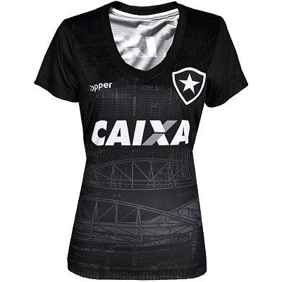 Camisa Botafogo Aquecimentio  2018 Topper