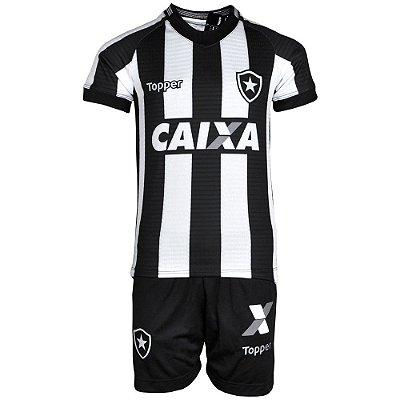 Kit Botafogo Jogo I Infantil 2018 Topper