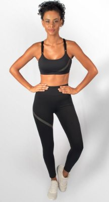 Legging Lab Black Fitness