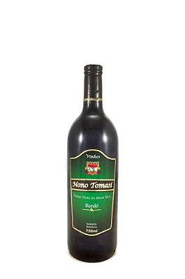 Vinho Nono Tomasi Tinto de Mesa Seco 750ml
