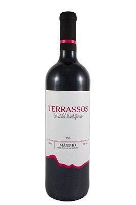 Vinho Terrassos Tinto de Mesa Uva Máximo Suave - 750ml