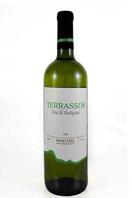 Vinho Terrassos  Branco de Mesa uva Moscatel - 750ml