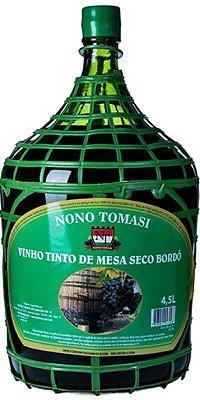 Garrafão de Vinho Nono Tomsasi Bordô Seco 4,5ml