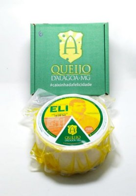 QUEIJO D'ALAGOA-MG - PRODUTOR ELI - (Peça Pequena 1 a 1,3kg)