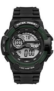 Relógio Mormaii Masculino Wave Preto e Verde- MO3660AD/8V