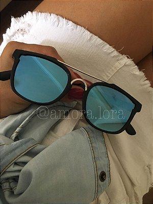 Óculos de Sol Quadrado Núbia
