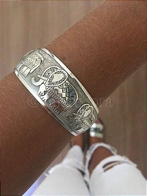 Bracelete Elefante Vintage