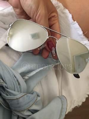 Óculos de Sol Aviador  Espelhado
